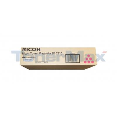RICOH AFICIO SP C210 TONER MAGENTA